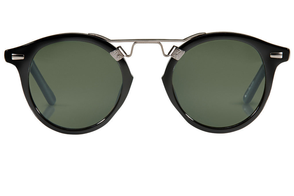 Krewe St. Louis Sunglasses in Black