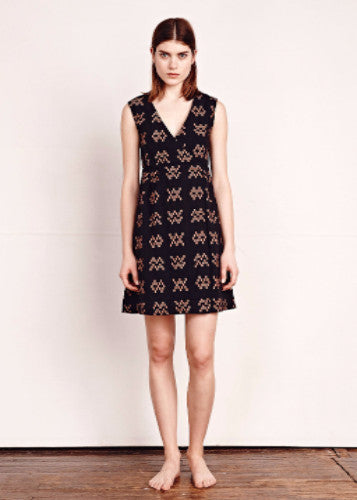 Ace & Jig Bedford Dress in Black Sampler