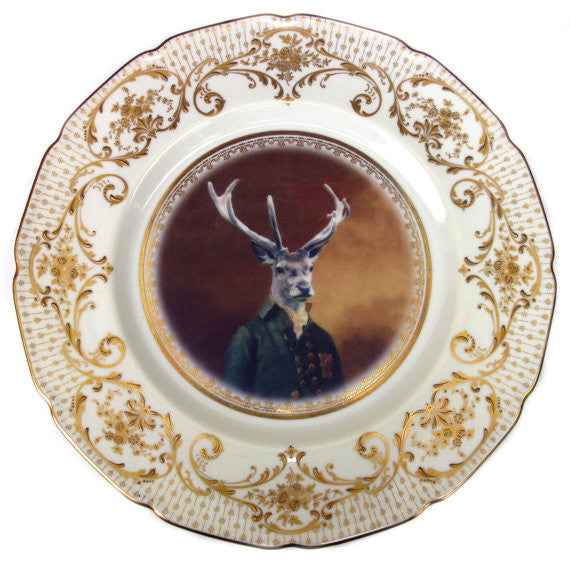 Charles van Dulce, 8th Duke of Elces - Altered Antique Plate