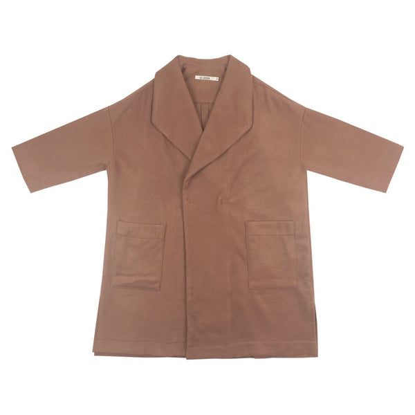 Ali Golden Kimono Coat in Copper