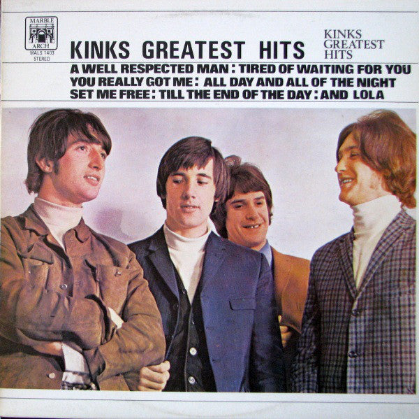 Kinks Greatest Hits
