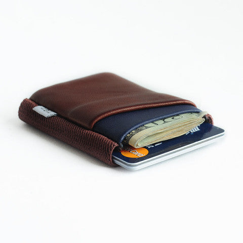 TGT 2.0 Deluxe Wallet in Oxblood/Midnight