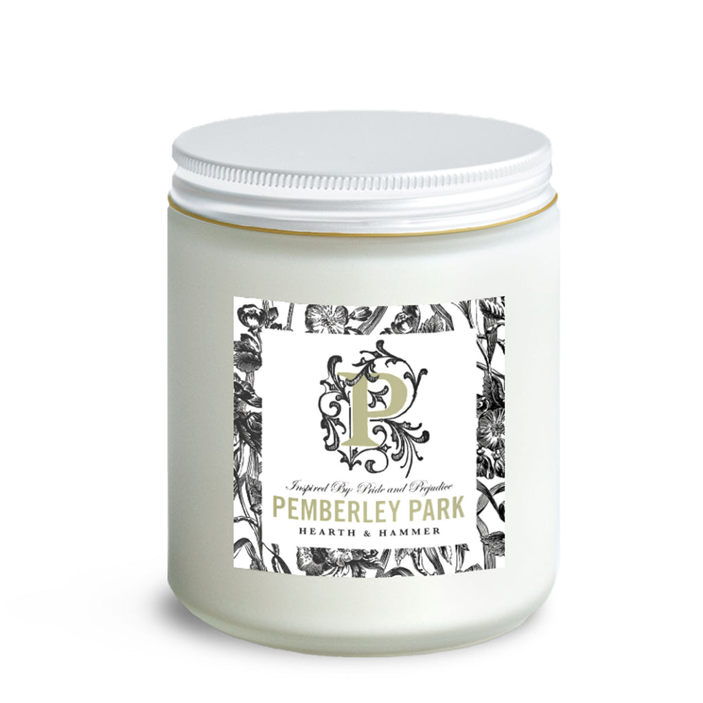 Pemberley Park Literary Candle