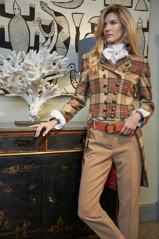 Bonaparte Camel Plaid