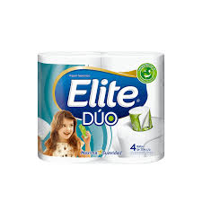 Papel Elite Azul Duo x 4