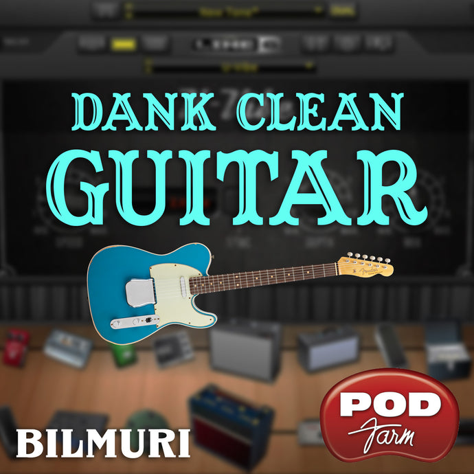 BokeTones - Dank Clean Guitar Tone - Boketo Media