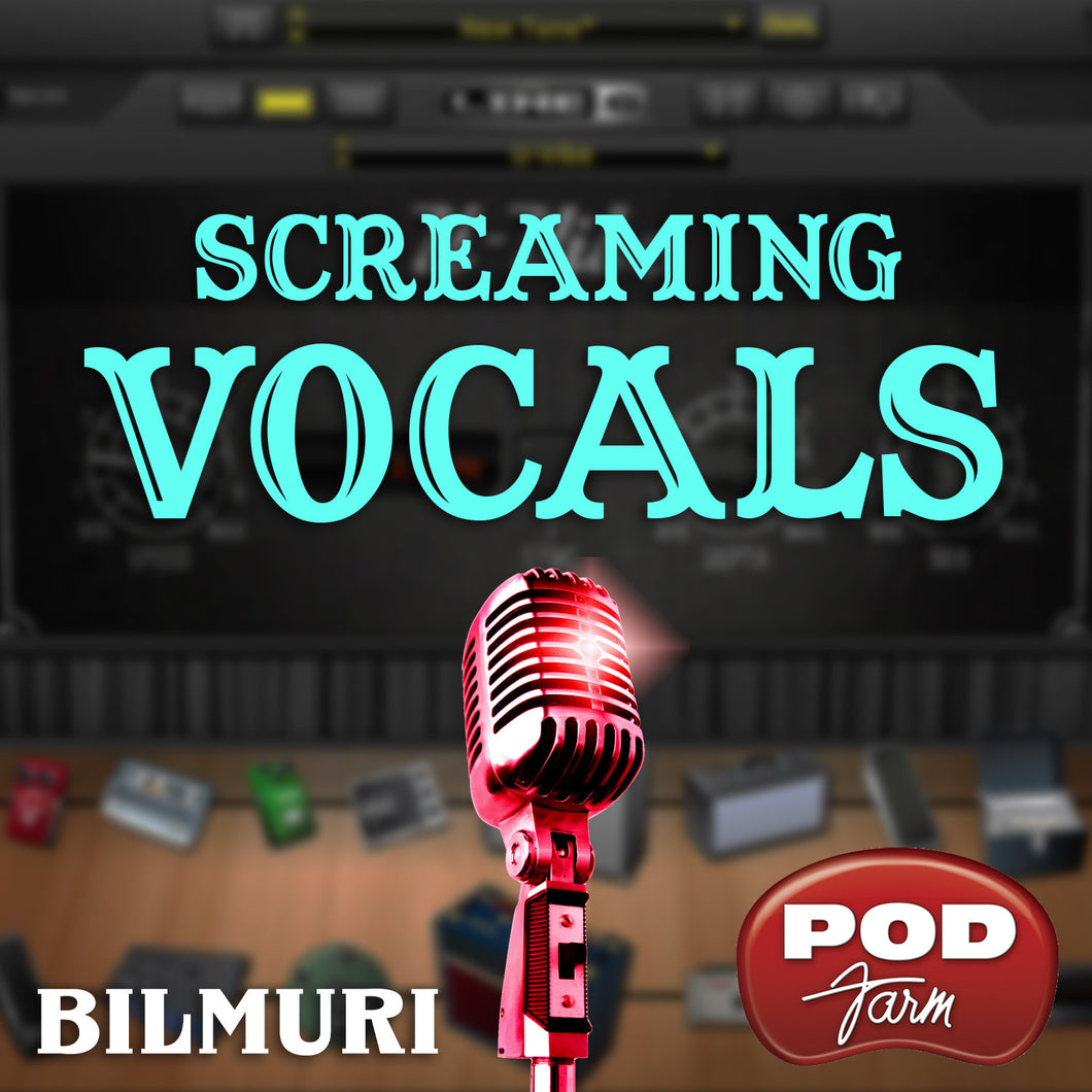 BokeTones - Screaming Vocal Chain - Boketo Media