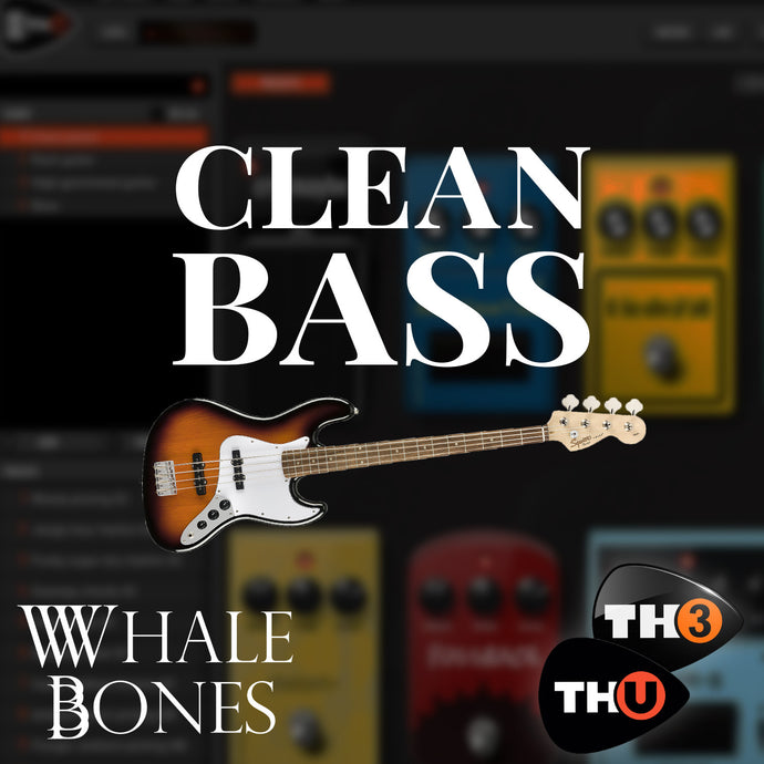 BokeTones - Clean Bass Tone - Boketo Media