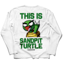 Load image into Gallery viewer, Sandpit Turtle White Tee - Boketo Media