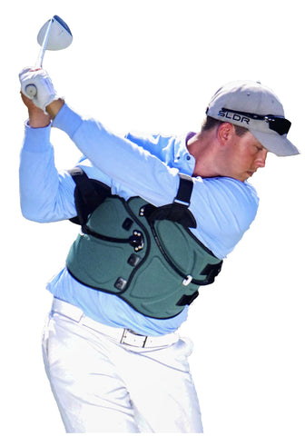 Swing Jacket - The Ultimate Swing Teacher - LOWEST PRICE + FREE EXPEDITED SHIPPING - Regular Size - Left Handed - The Ultimate Swing Teacher Inc., dba Swing Jacket