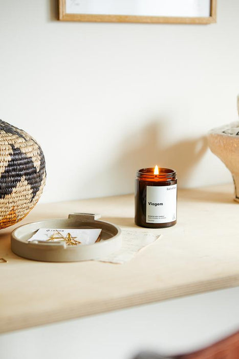 VIAGEM - SOY WAX CANDLE - 170ML