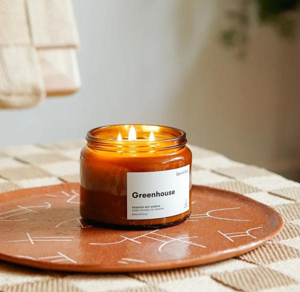 GREENHOUSE - SOY WAX CANDLE - 500ML