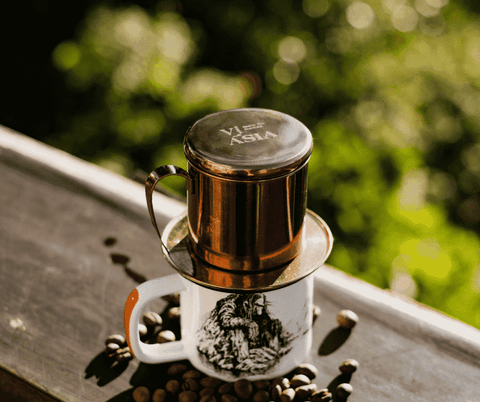 Phin coffee brewing tool: compact for travel