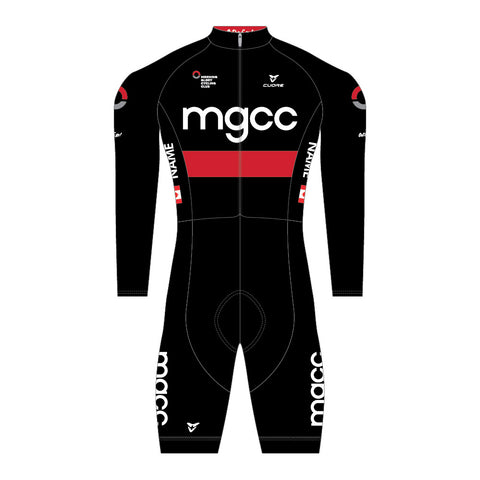 SILVER CYCLING L/SLEEVE THERMAL SUIT