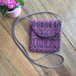Load image into Gallery viewer, Chocolate Rose Balm - Crossbody Bag