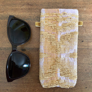 Pastel Handwoven Glasses Case
