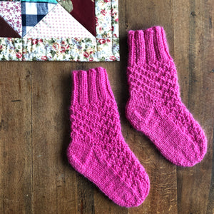 Toddler Socks, Llama & Merino Blend
