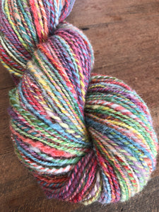 Full Rainbow Hand-Dyed Worsted Weight Wool Yarn