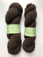 Load image into Gallery viewer, Natural Brown Worsted Weight Wool Yarn