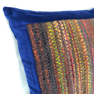 Textured Merino Handwoven Pillow Cover