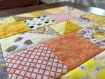 Charger l'image dans la galerie, Sunny Patchwork Placemat, Dark Backing