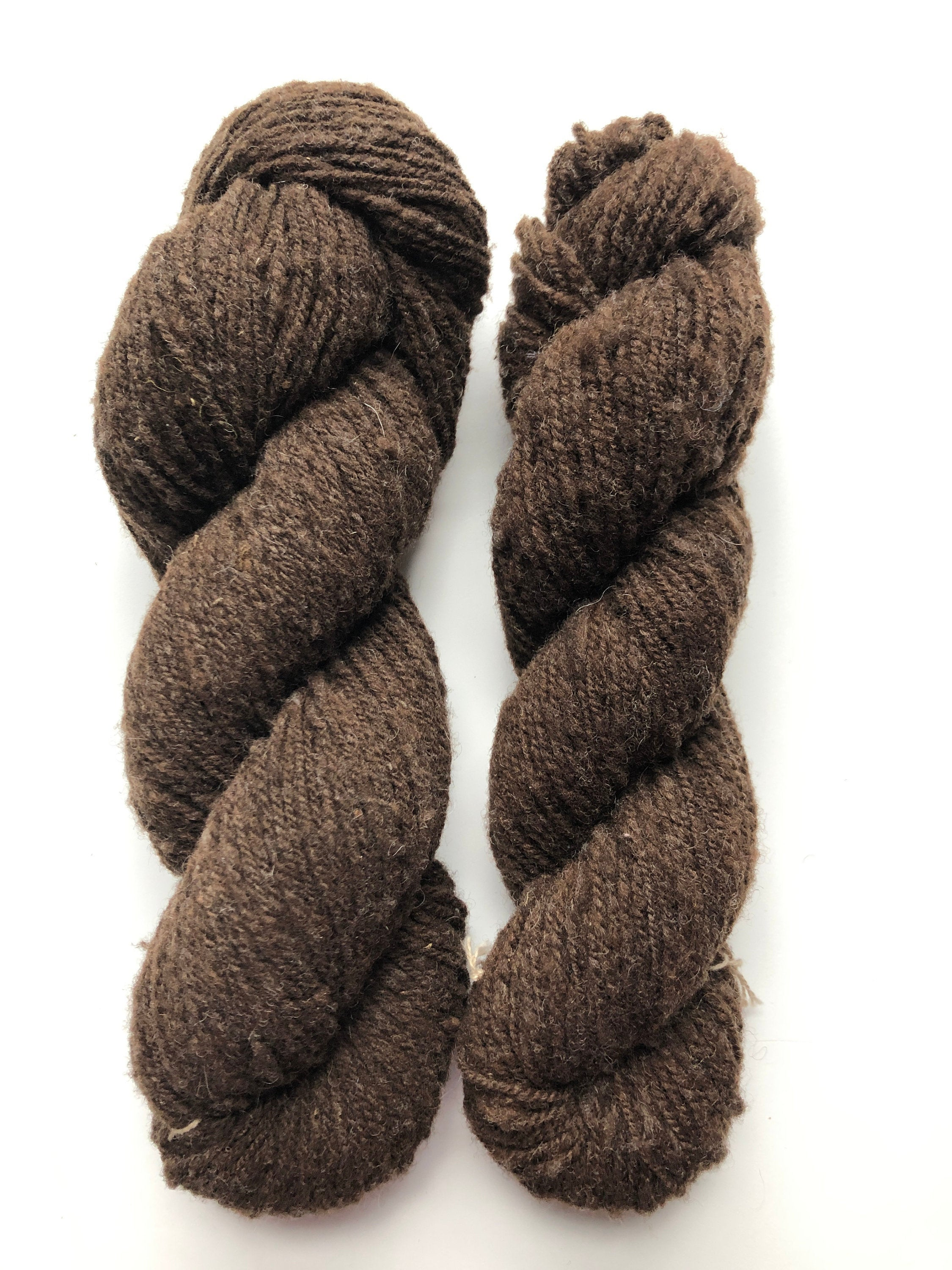 brown babydoll sheep yarn