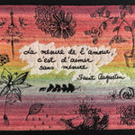 Charger l'image dans la galerie, Measure of Love - Jacquard Tapestry Wall Hanging