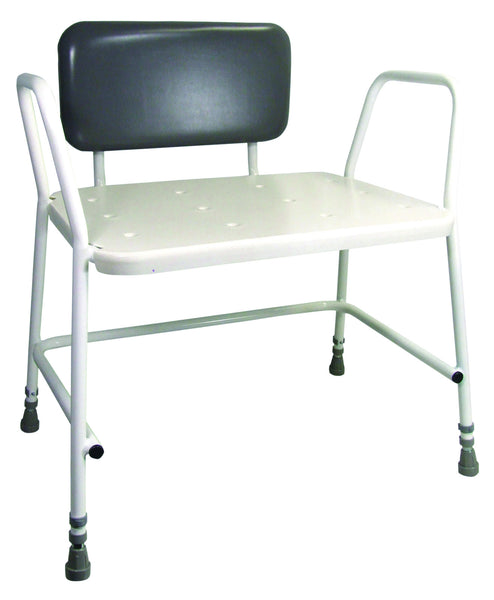 Aidapt Portland Bariatric Height Adjustable Shower Stool
