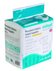 Aidapt Premium Unisex Adult Nappies (Diapers)