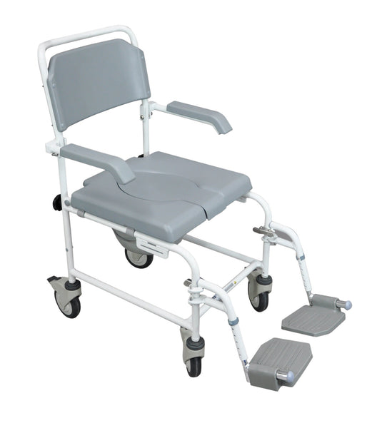 Aidapt Bewl Attendant Propelled Shower Commode Chair