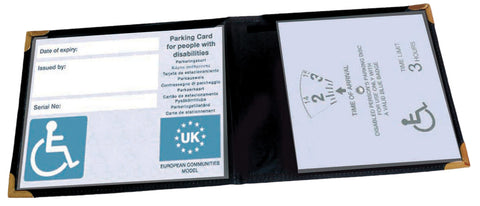 Aidapt Wallet for Mobility or Disabled Parking Badge