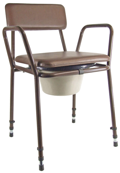 Aidapt Essex Height Adjustable Commode Chair