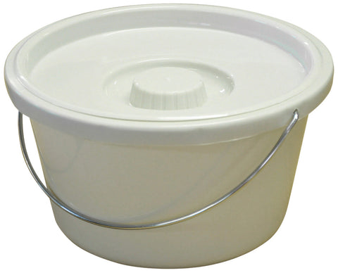 Aidapt 7.5L Commode Bucket and Lid