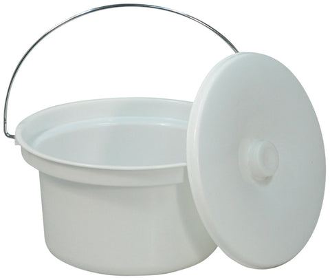 Aidapt 5 L Commode Bucket and Lid
