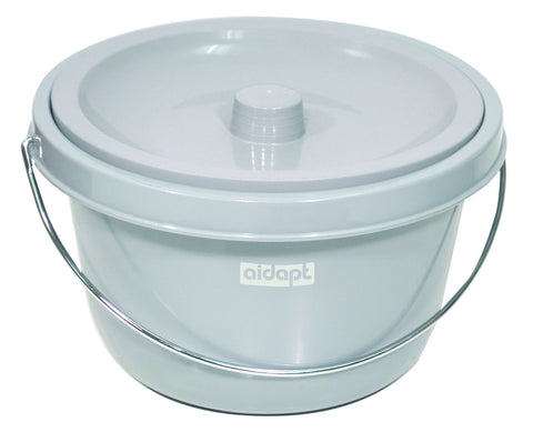 Aidapt Bucket and Lid for Bewl Shower Commode Chair