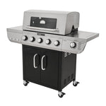 Even Embers® Two Toned Five Burner Gas Grill with Window
