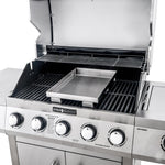 Even Embers® Five Burner Stainless Steel Gas Grill with Window