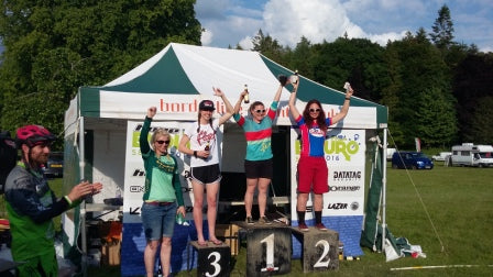 Podium for Abigale at PMBA