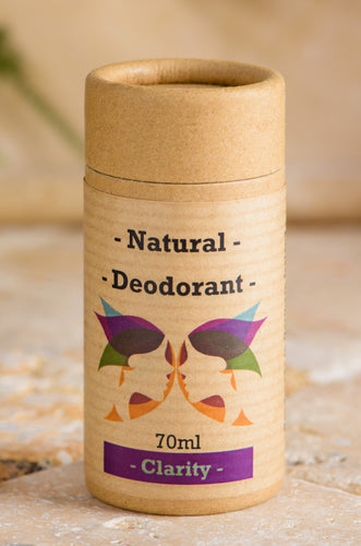 Green Ladies NI Natural Deodorant Clarity Closed Cap