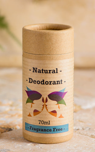 Green Ladies NI Natural Deodorant Fragrance Free Closed Cap