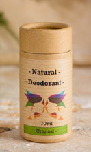 Load image into Gallery viewer, Green Ladies NI Natural Deodorant Original Closed Cap