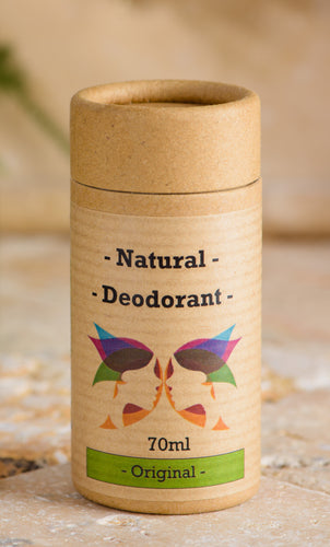 Green Ladies NI Natural Deodorant Original Closed Cap
