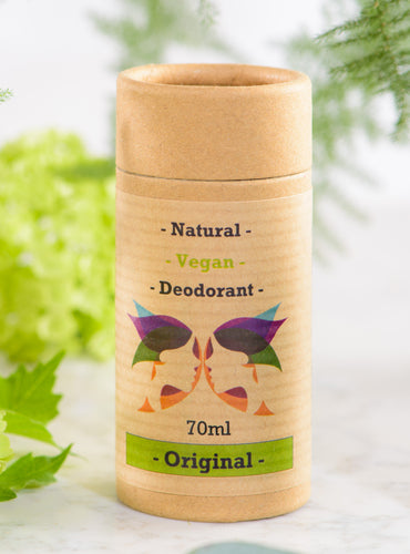 Green Ladies NI Natural Vegan Deodorant Original Closed Cap