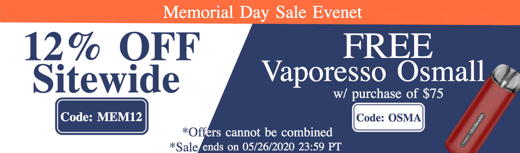 VPROCITY Memorial Day Sale Event