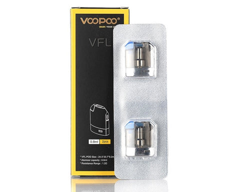 VOOPOO VFL Replacement Pods (2 Pc)