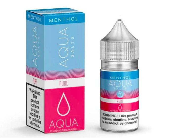 Aqua Salts - MENTHOL Pure (30mL)