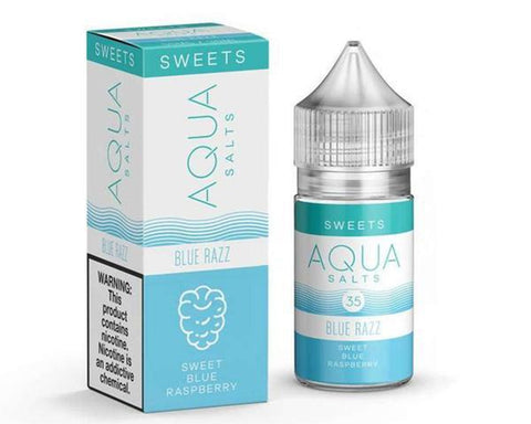 Aqua Salts - Blue Razz (30mL)