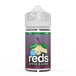 7 Daze - Reds Apple Berries Iced (60ml)