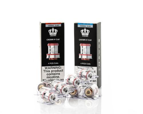 Uwell Crown 4 Replacement Coils (4 Pc)