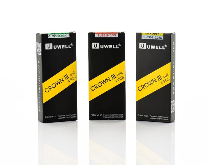 Uwell Crown 3 III Replacement Coils (4 Pc)